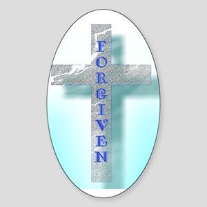 FORGIVEN Sticker (Oval)