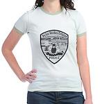 Palos Verdes Estates Police Jr. Ringer T-Shirt