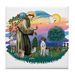St. Fran #2/ German SH Pointer Tile Coaster