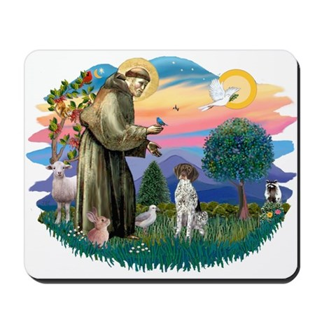 St. Fran #2/ German SH Pointer Mousepad