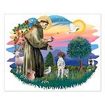 St. Fran #2/ German SH Pointer Small Poster