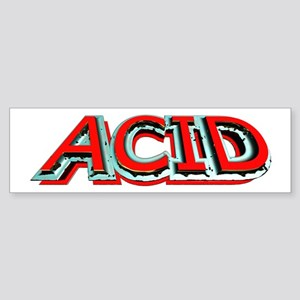 Acid 3D Sticker (Bumper)