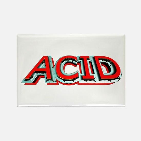Acid 3D Rectangle Magnet