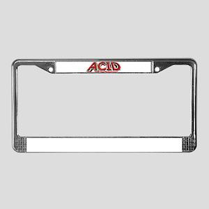 Acid 3D License Plate Frame