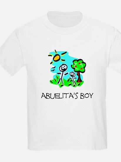 Abuelita's Boy Stick Figure T-Shirt