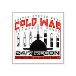 Cold War Veterans Submarine Square Sticker 3