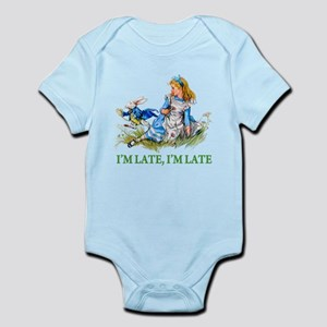 I'M LATE, I'M LATE Infant Bodysuit