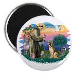 St. Fran #2/ German Shepherd (#2) Magnet