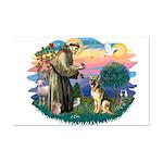St. Fran #2/ German Shepherd (#2) Mini Poster Prin