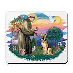St. Fran #2/ German Shepherd (#2) Mousepad