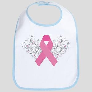 Pink Ribbon Design 3 Bib