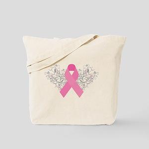 Pink Ribbon Design 3 Tote Bag