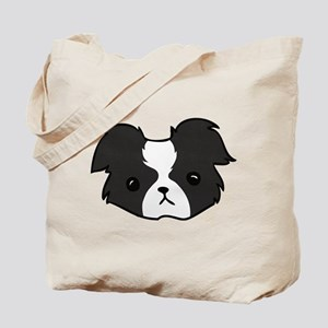 Bobble Border Collie Tote Bag