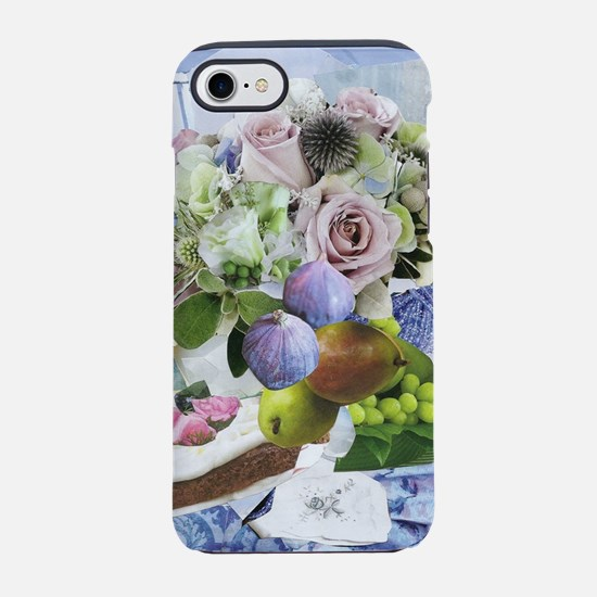 Flowers, Figs and Pears iPhone 7 Tough Case