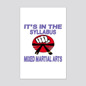 It's in the syllabus Mixed Marti Mini Poster Print