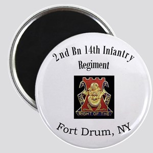 2nd 14th Inf Reg Magnet