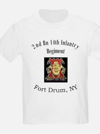 2nd 14th Inf Reg T-Shirt