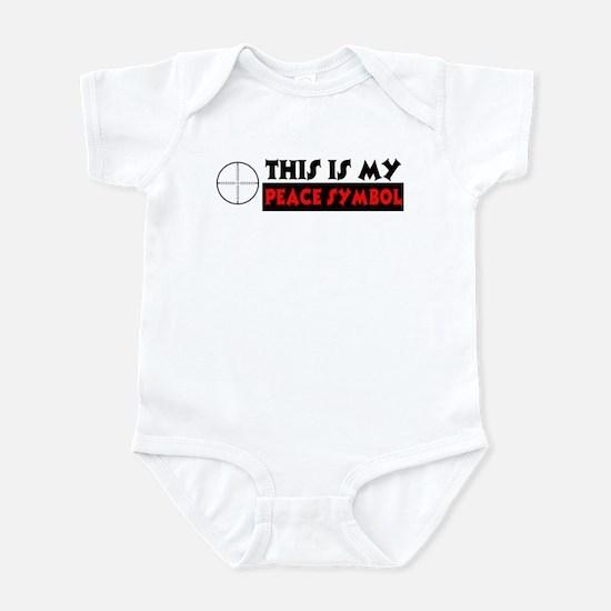 My Peace Symbol Infant Bodysuit