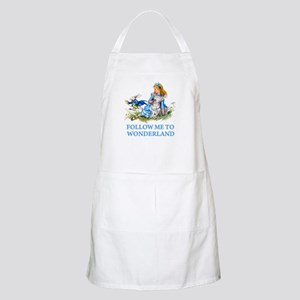 FOLLOW ME TO WONDERLAND Apron