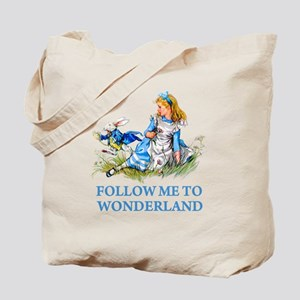 FOLLOW ME TO WONDERLAND Tote Bag