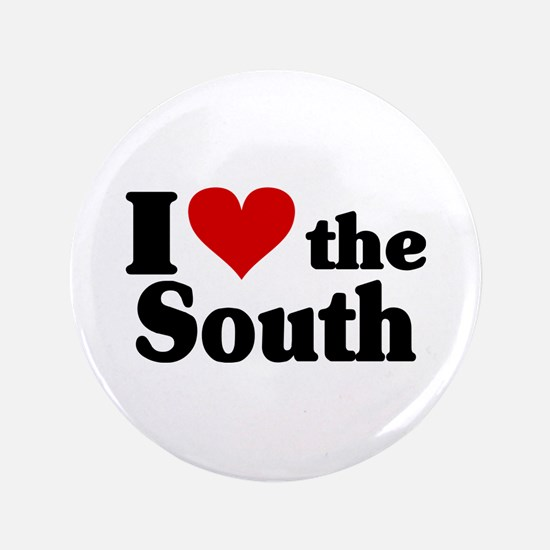 "I Heart the South 3.5"" Button"