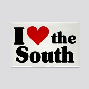 I Heart the South Rectangle Magnet