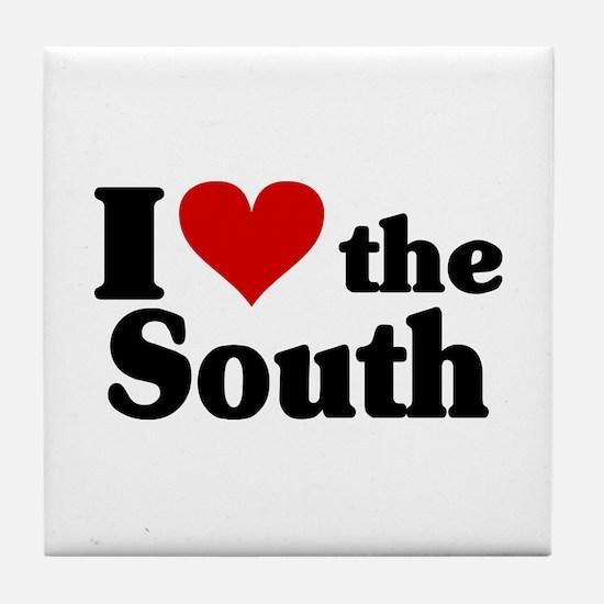 I Heart the South Tile Coaster