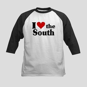 I Heart the South Kids Baseball Jersey