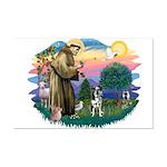St Francis #2/ Ger Shep #2Catahoula Mini Poster Pr