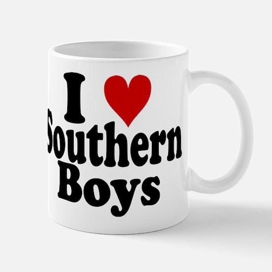 I Heart Southern Boys Mug