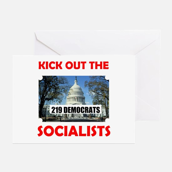 SOCIALIST CONGRESS 2010 Greeting Cards (Pk of 20)