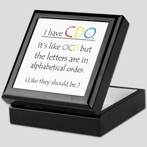 I have CDO ... Keepsake Box