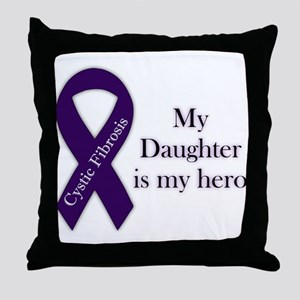 Daughter CF Hero Throw Pillow