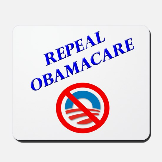 Repeal Obamacare Logo 2 Mousepad