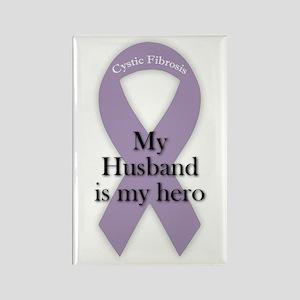 Husband CF Hero Rectangle Magnet