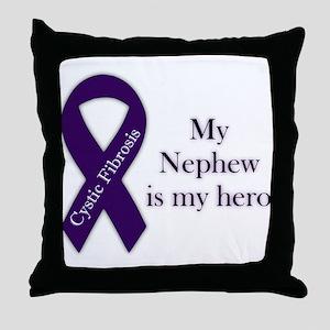 Nephew CF Hero Throw Pillow