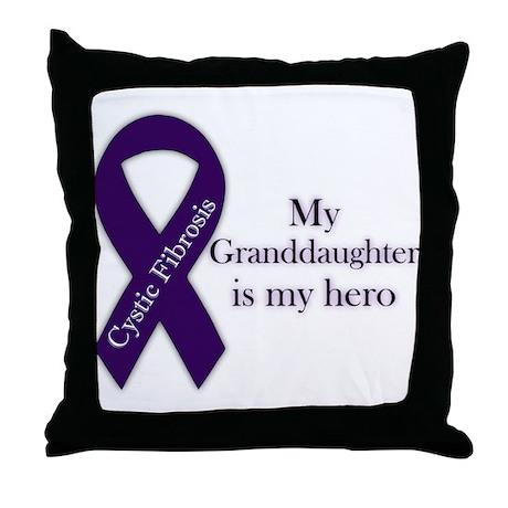 Granddaughter CF Hero Throw Pillow