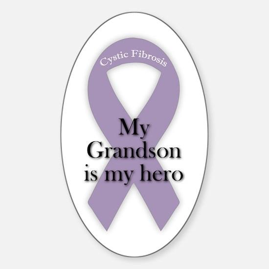 Grandson CF Hero Sticker (Oval)