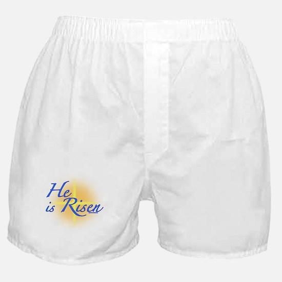 He is Risen Boxer Shorts
