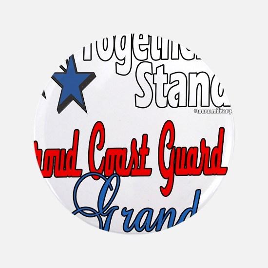 """Coast Guard Grandma 3.5"""" Button"""