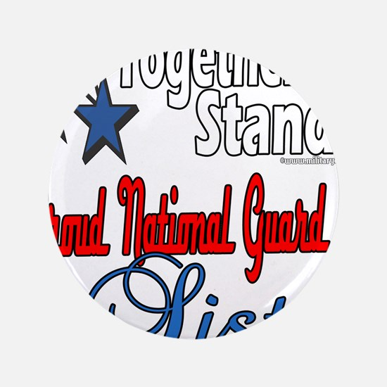 """National Guard Sister 3.5"""" Button"""