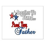 Navy Father Small Poster