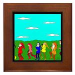 Seven Dwarfs Framed Tile