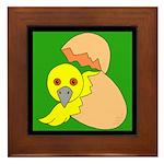 Hatching Chick Framed Tile