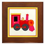 Choo-Choo Train Framed Tile