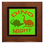 Dinosaurs Framed Tile