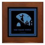 Wee Willie Winkie Framed Tile