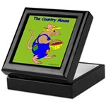 The Country Mouse Keepsake Box