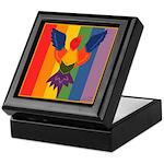 Rainbow Bird Keepsake Box