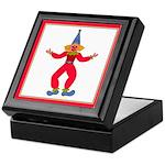 Circus Clown Keepsake Box